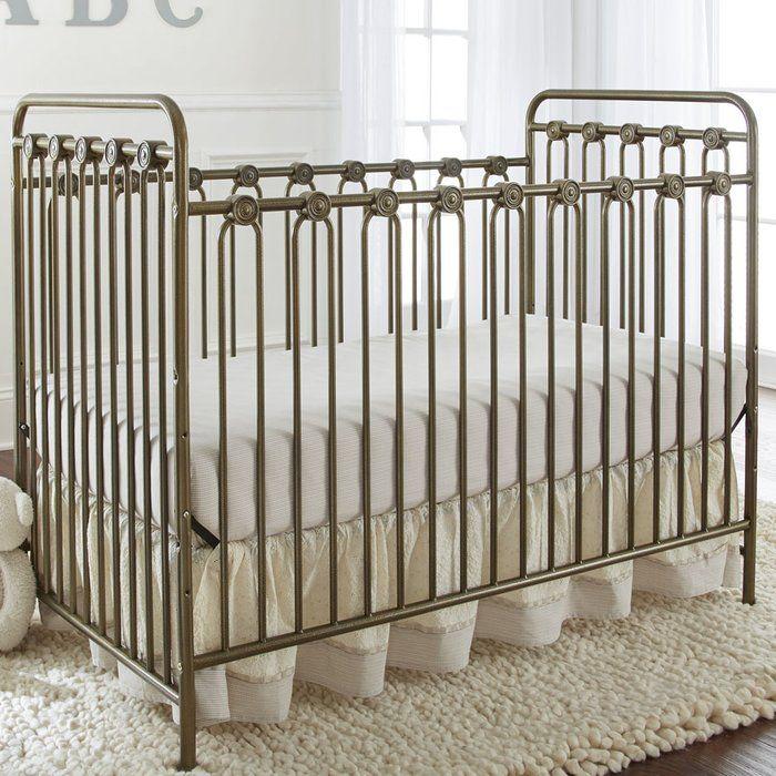 Napa Metal 3-in-1 Convertible Crib | Convertible crib, Crib and ...