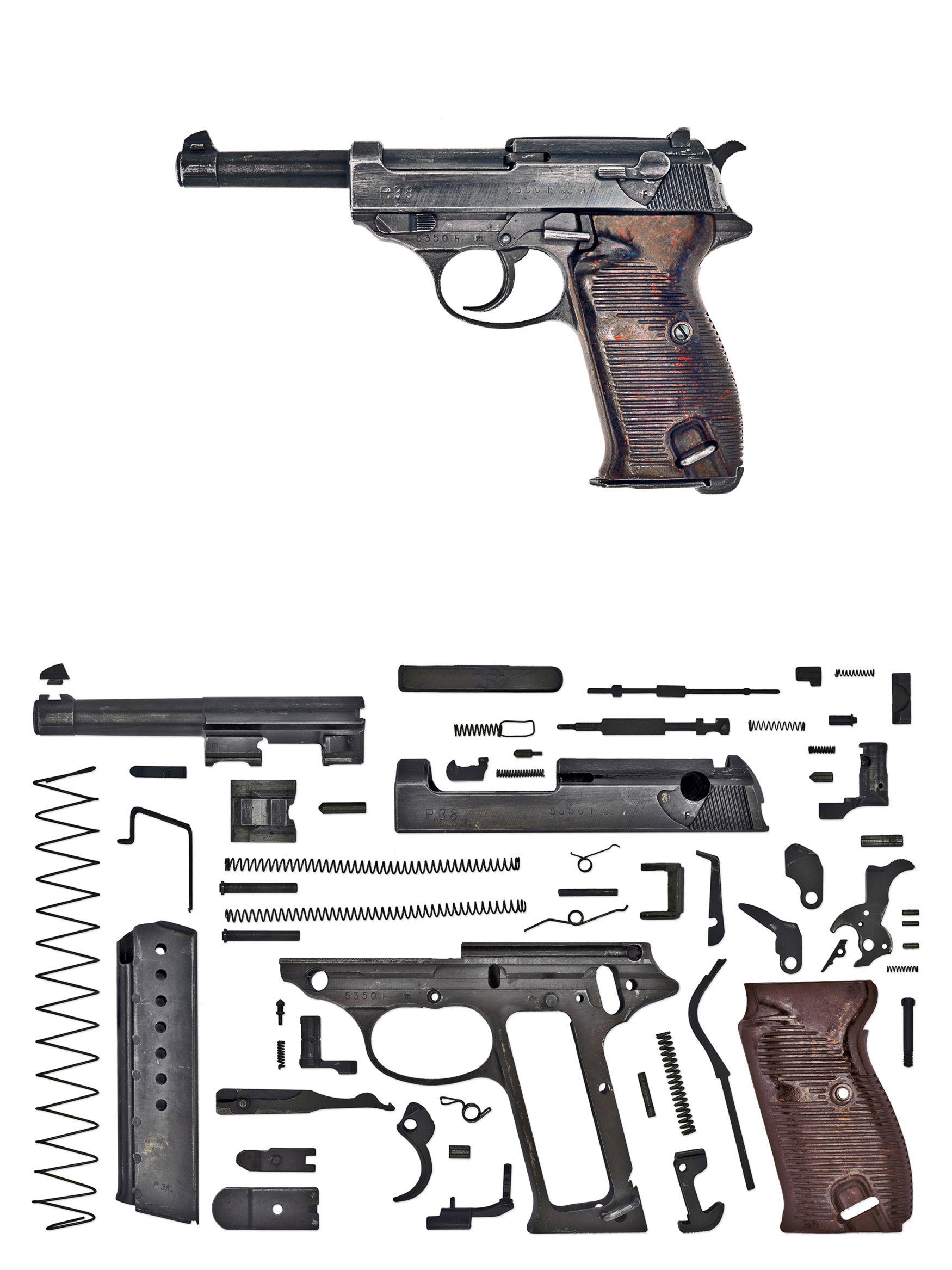 WWII Anatomy Project: Pistols (First Batch) | Pinterest | Anatomy ...