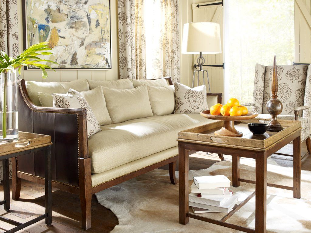 ferguson copeland leather sofa nova black and red corner embellishments studded edges add a rustic feel