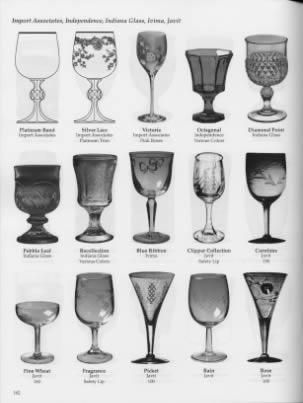 Crystal Glassware Pattern Identification Crystal Stemware Glass Pattern Etchings Id Replacements Antique Glass Bottles Crystal Glassware Fostoria Glassware