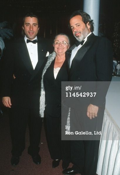 Andy Garcia and his brother René Garcia with their mother