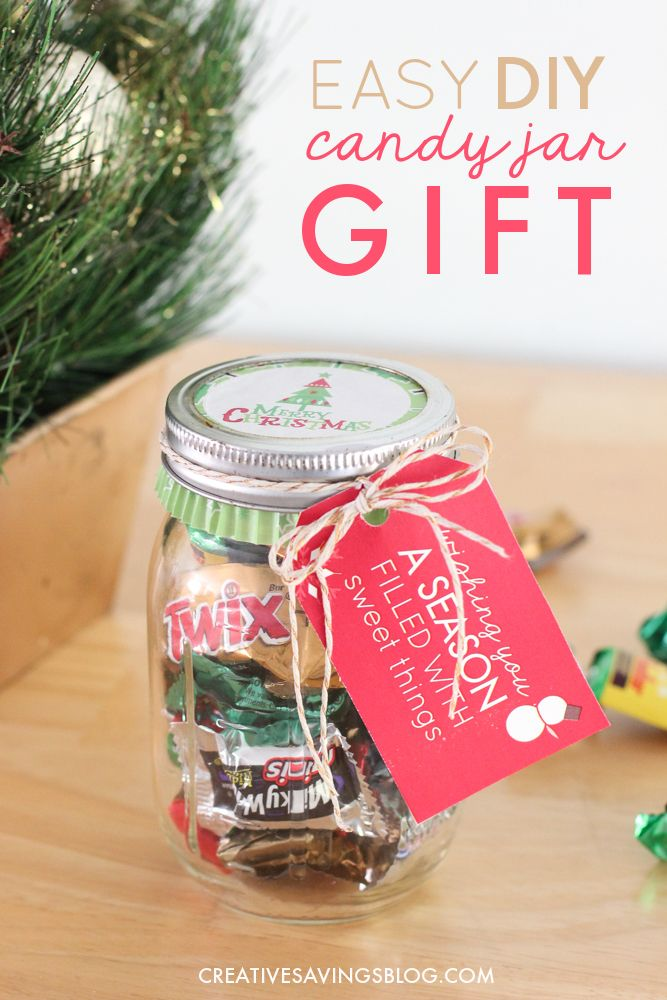 Carefully Crafted Cuteness By Melyssa Connolly Sweets Jar Christmas Jars Crafts Jar Crafts