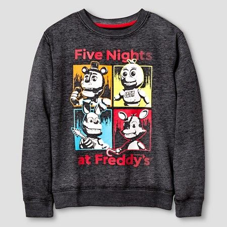 Five Nights at Freddy's Sweatshirt - Black    $16.99 @ Target (any style size small for B)