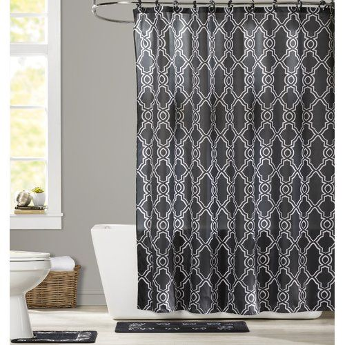Found It At Wayfair Goldston Shower Curtain Set With Images