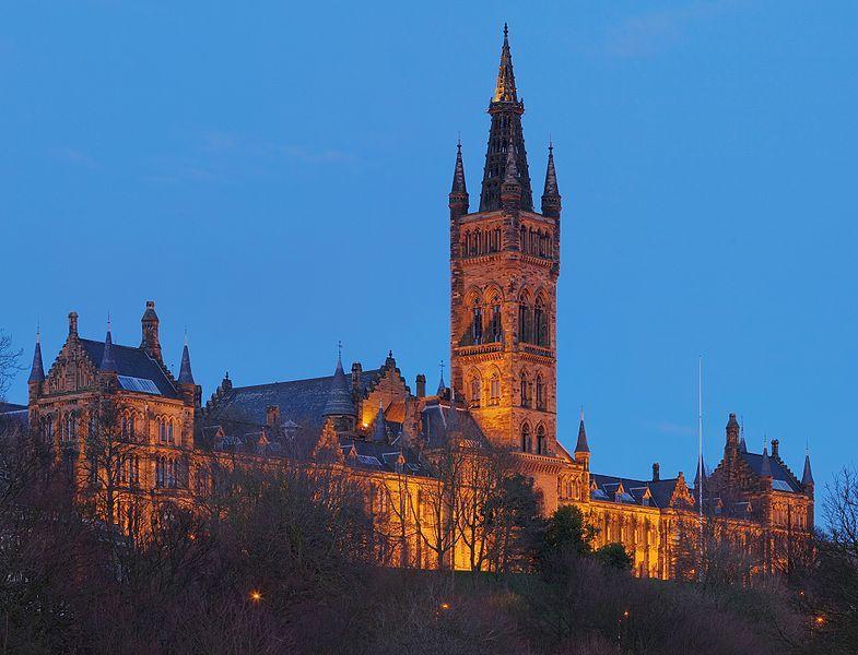 University of Glasgow Gilbert Scott Building.  An amazing building!
