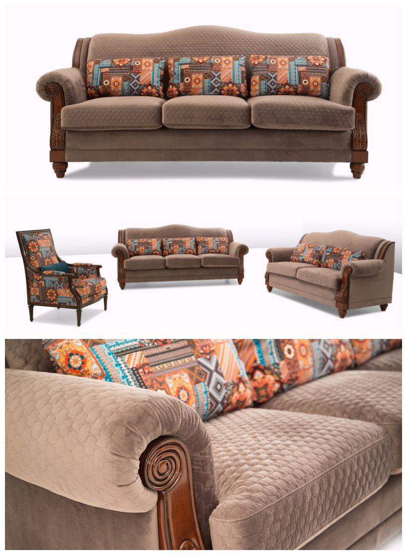 Classic Vintage Design China Supplier Antique Sofa Set Antique Sofa Modern Sofa Set Sofa Set