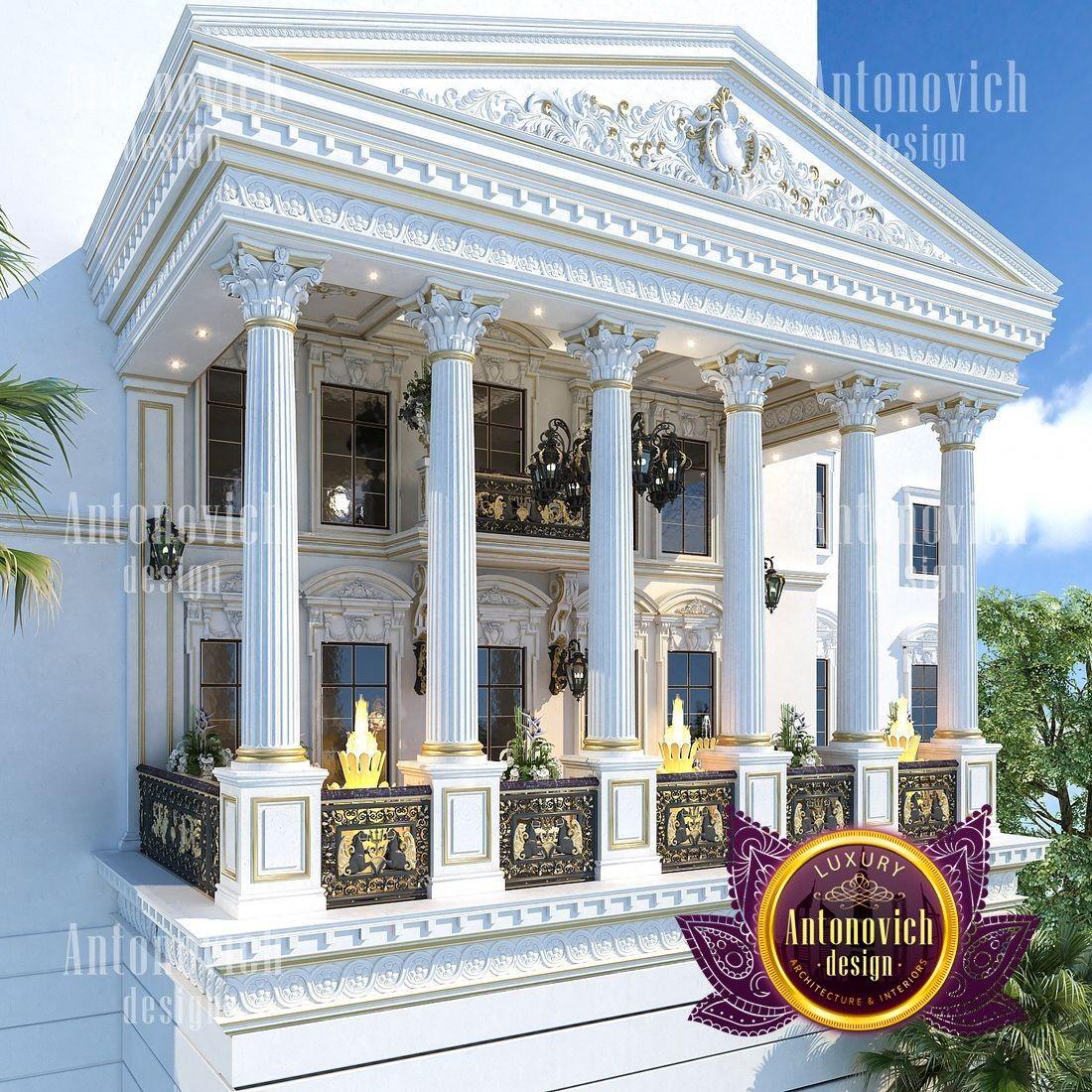 Architectural Design Solutions Villa Design Luxury House Designs House Outside Design