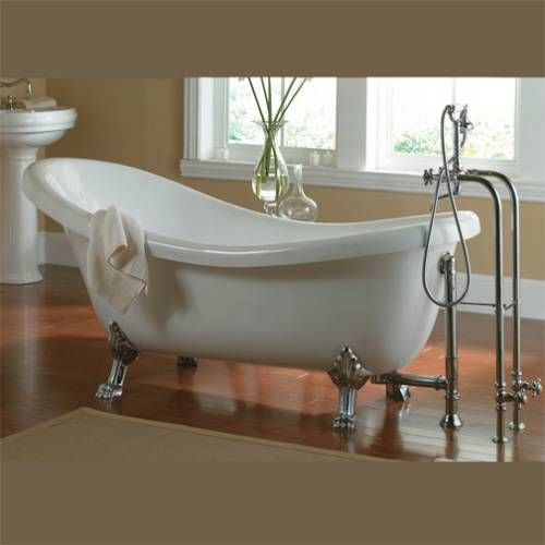 205 Clawfoot Tub Is A Must In The Master Bath But I D Probably