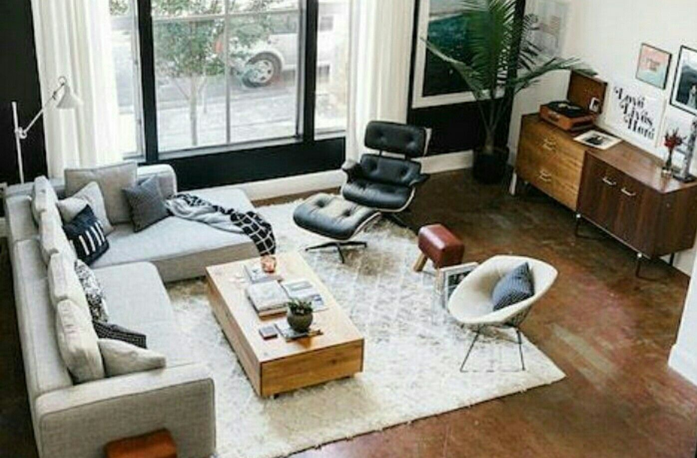 Mid century furniture these eames chair lounge is exactly what you need in your mid century modern home