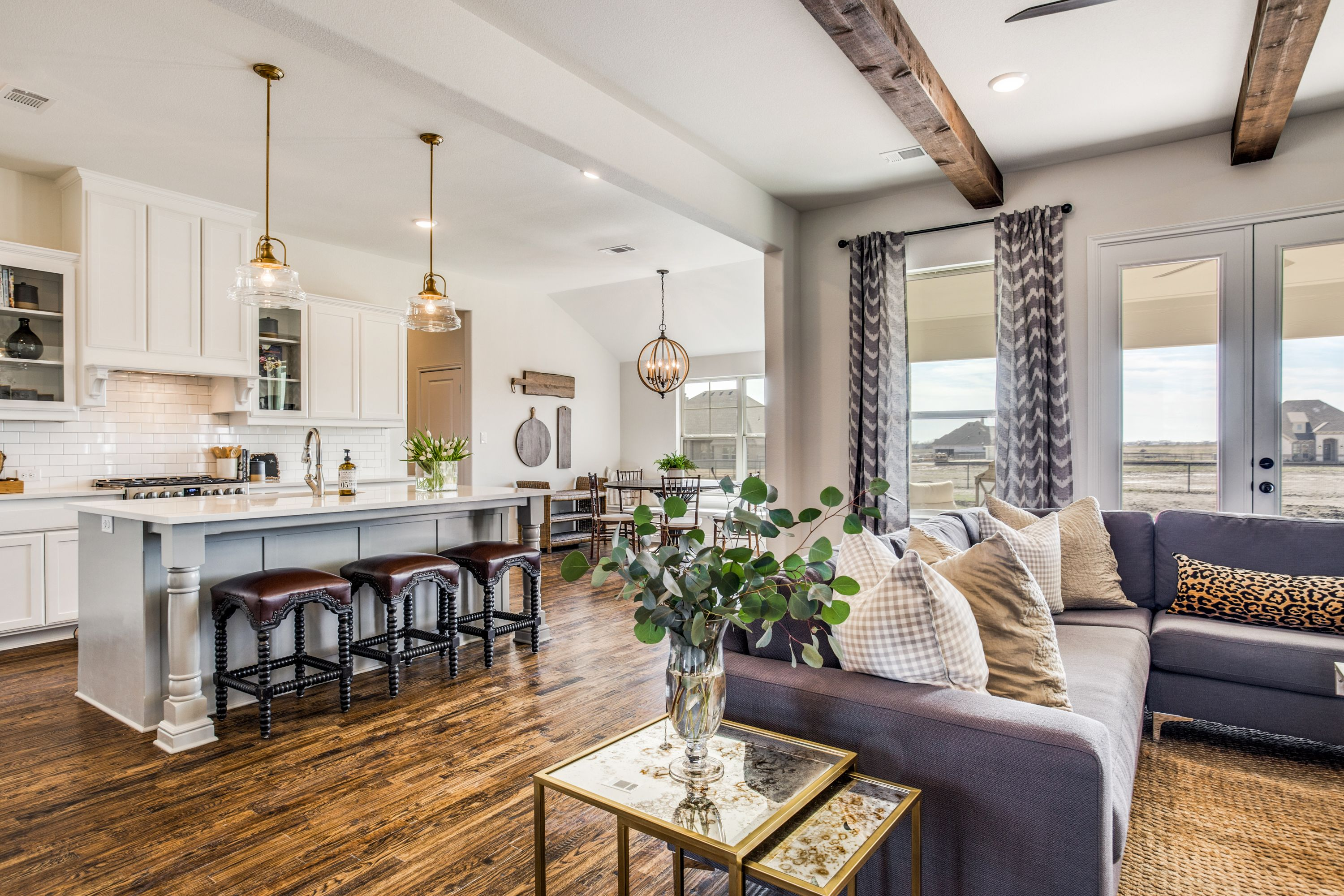 Think outside the box  This floor plan, the Jackson, changes the