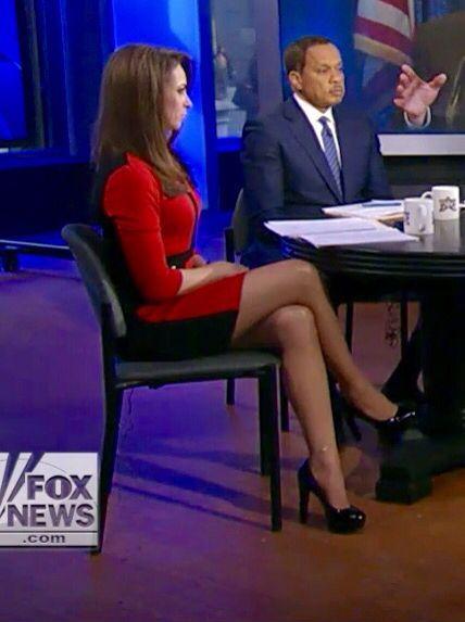 News women in pantyhose