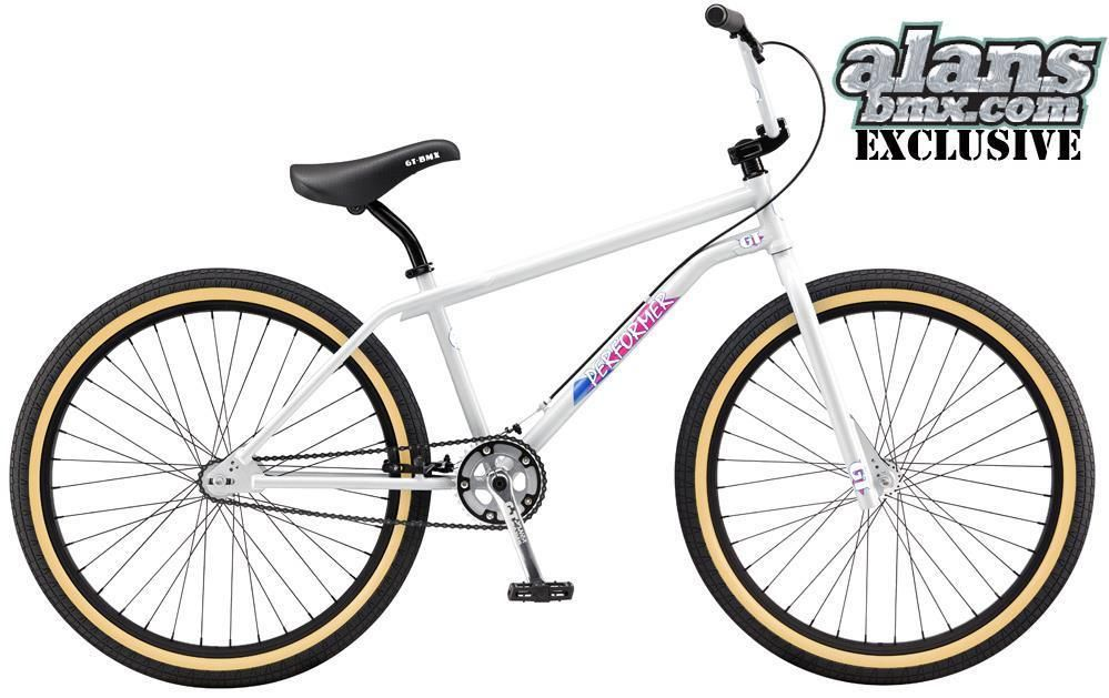 Gt 2017 Pro Performer 26 Inch Retro Old School Bmx Bike Ltd Edition White In Sporting Goods Cycling Bikes Ebay Bmx Bikes Bmx 20 Bmx Bike