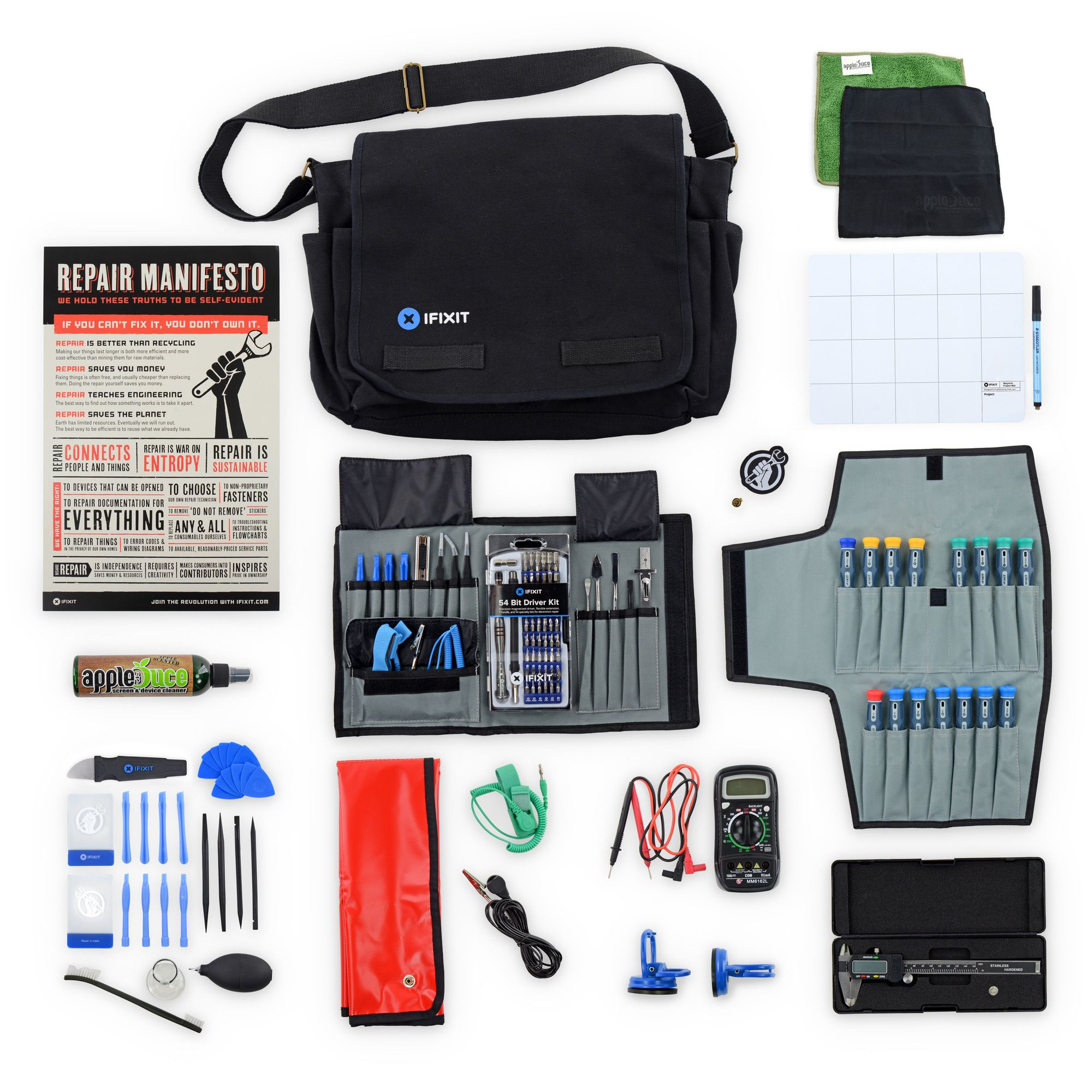 27964cc559af Repair Business Toolkit - Everything you need to start your own electronics  repair business in a handy messenger bag. Whether you are a formal  technician or ...