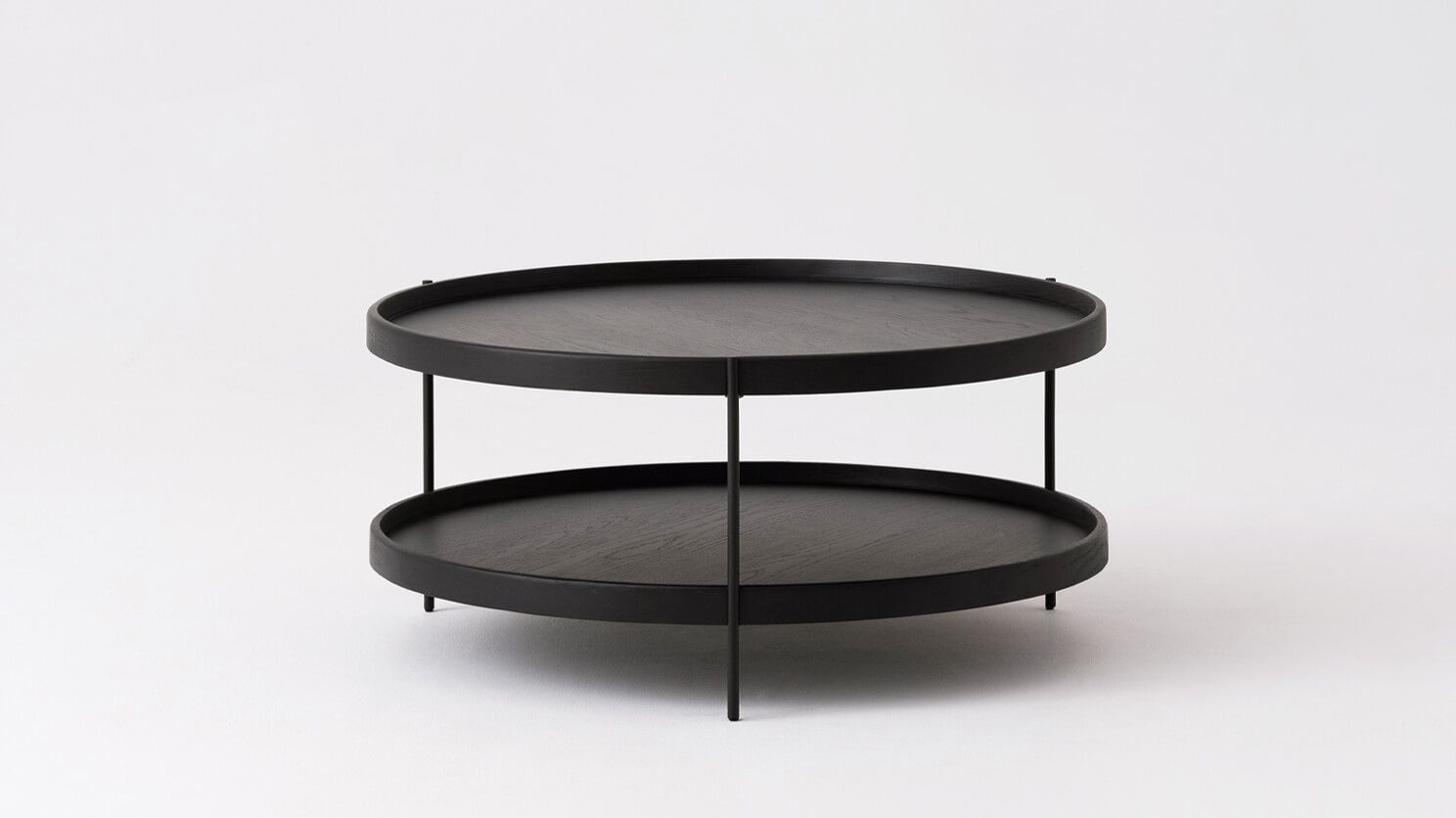 Sage Round Coffee Table Eq3 Round Coffee Table Round Black Coffee Table Coffee Table [ 836 x 1488 Pixel ]