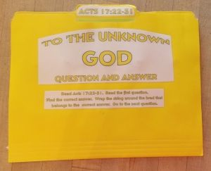 To The Unknown God Question And Answer FFG | Bible class ...