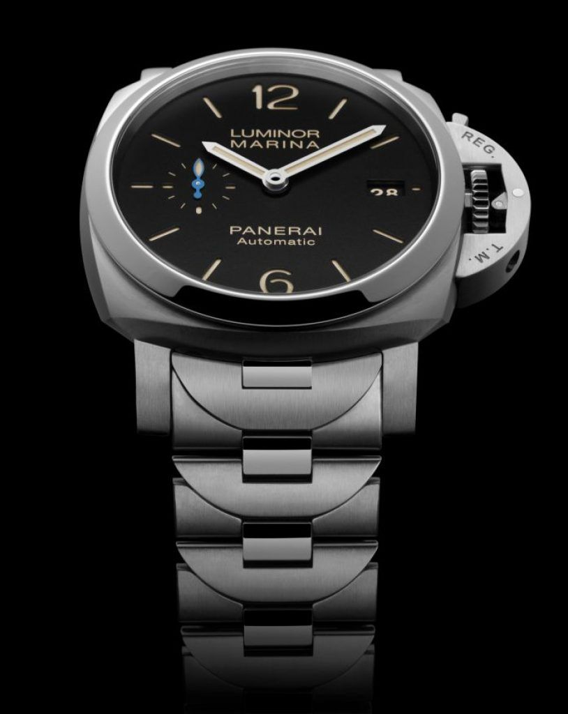 Panerai Has Introduced Two New Steel Bracelet Models The Ref Pam00722 And Pam00723 Luminor Marina Is Ed With A