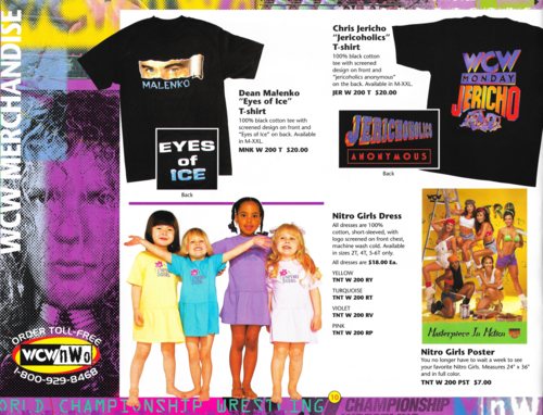 Someone Bought This Wcw Nitro Girls Dress For Your Little Girl Girls Dresses Dress For You Little Girls