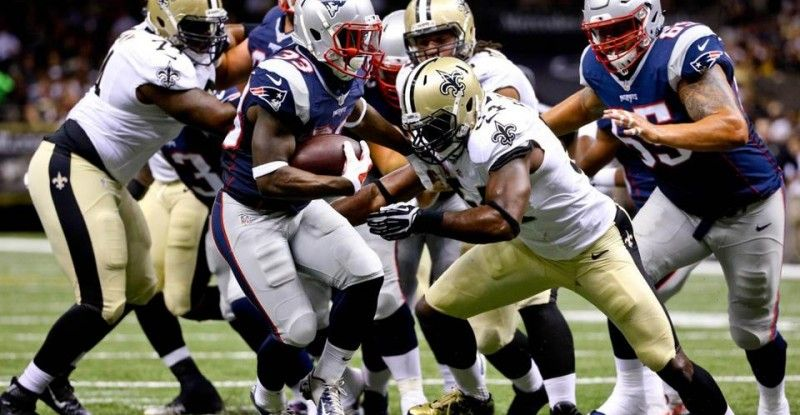 what channel is the saints vs patriots preseason game on