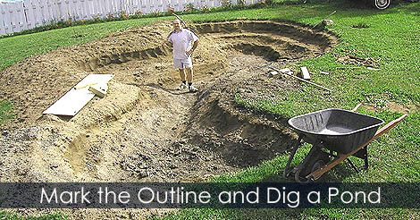 Pin by gardening usa homesteading home improvement for Building a koi pond step by step