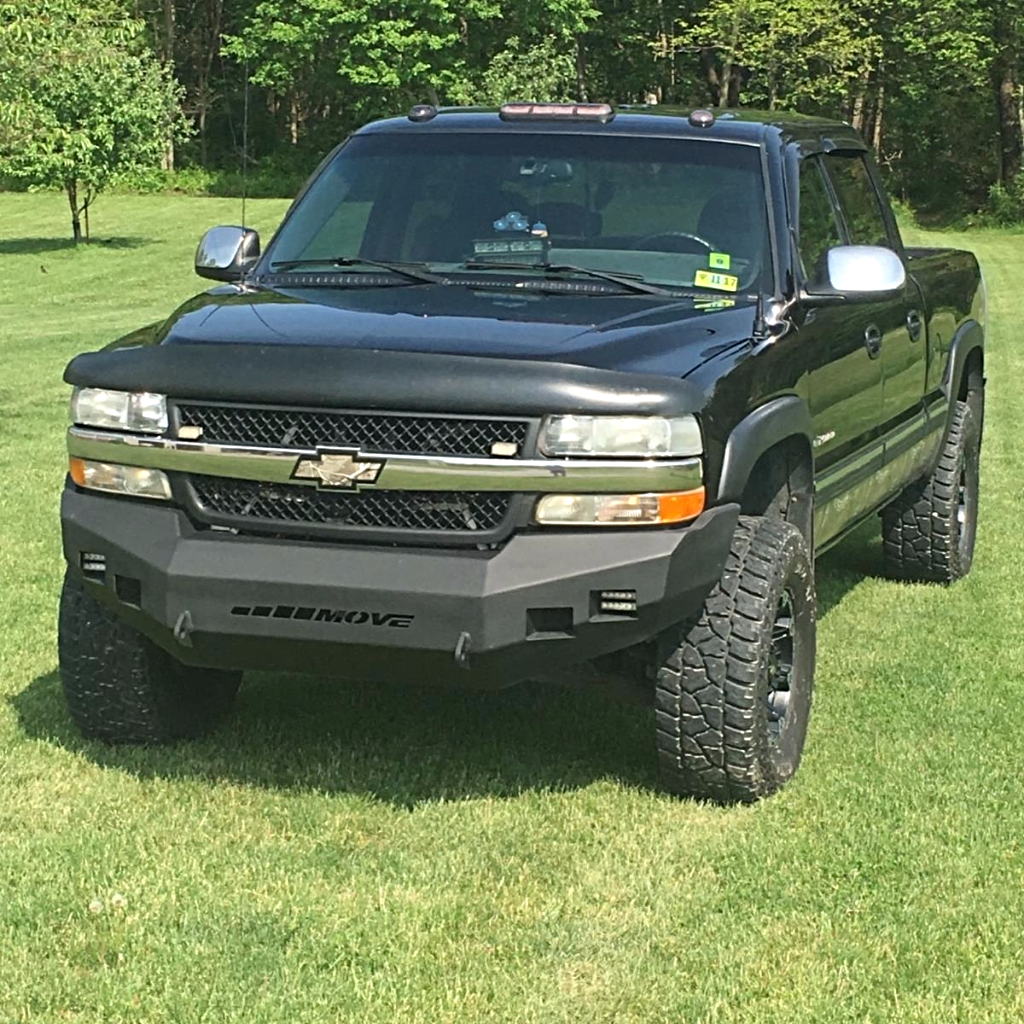 Customizable Wiy Front Standard Chevy 2500 3500 1999 2002 Hd Truck 2382 Move Bumpers Chevy Trucks Lifted Trucks Lifted Chevy Trucks