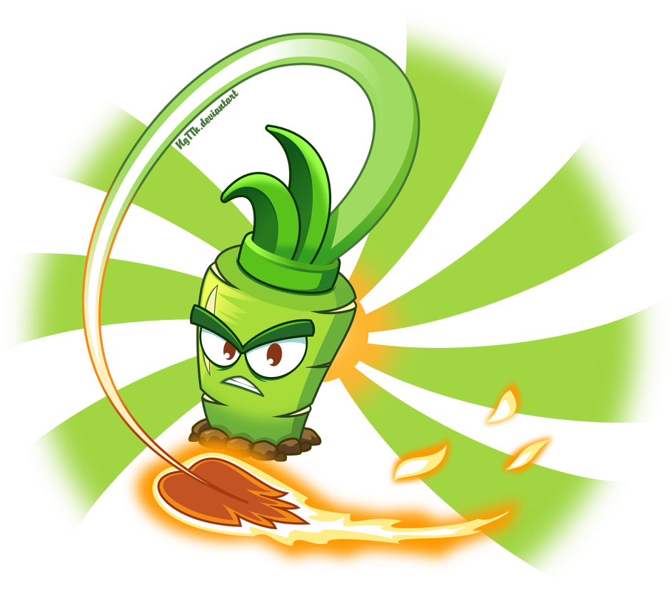 Hot Wasabi By Ngtth On Deviantart Plant Zombie Plants Vs Zombies Zombie