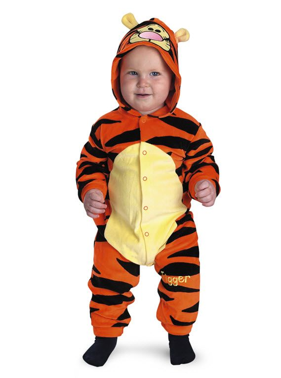fe6eebf15 Tigger Costume Tigger Infant Costume Bounce like Tigger does! Costume  includes: Bodysuit with character hood and closure with snaps along center