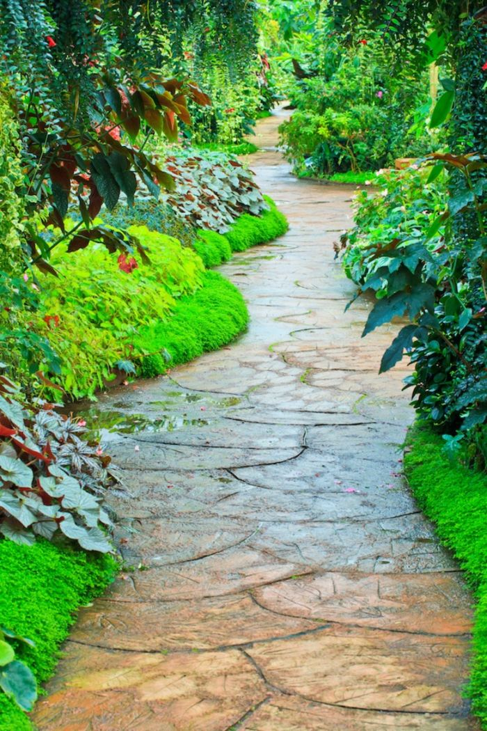 136 moderne Gartengestaltung Beispiele, wie Sie Böden und Gartenwege