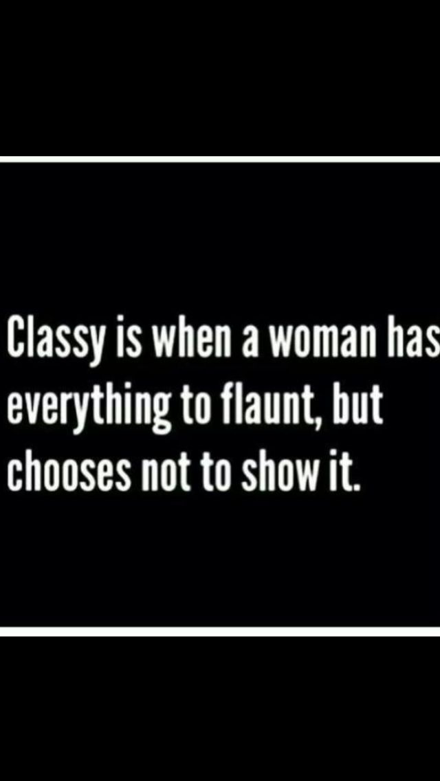 Have some class!