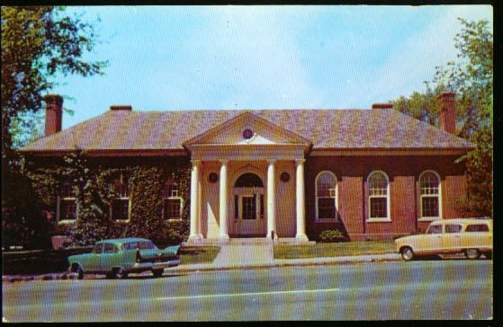 Manchester Ct Library Title Mary Cheney Library Manchester Ct Card 1950s House Styles Manchester Places