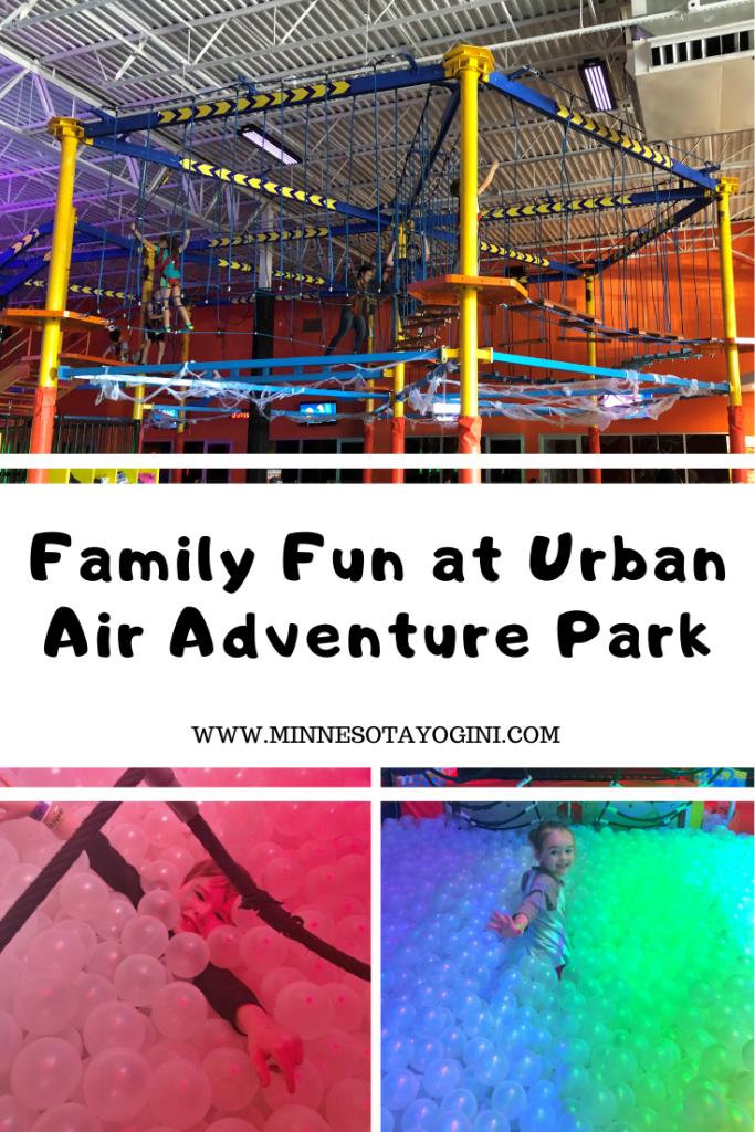 Family Fun at Urban Air Adventure Park Adventure