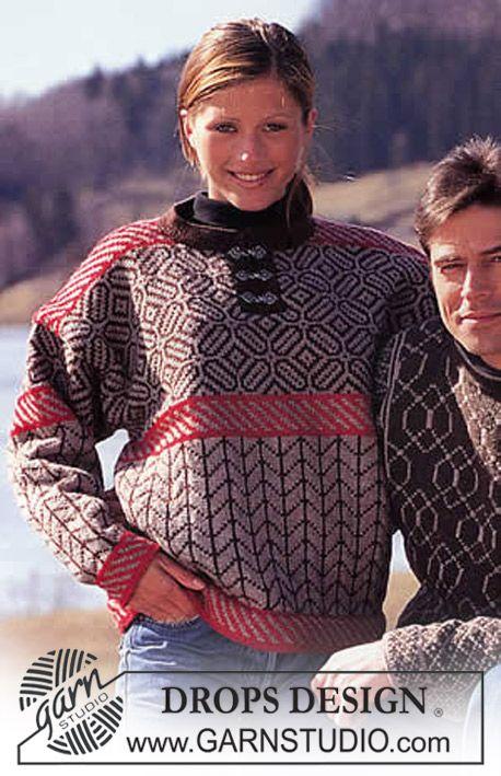 DROPS Sweater in Karisma Superwash ~ DROPS Design | Fibery ...