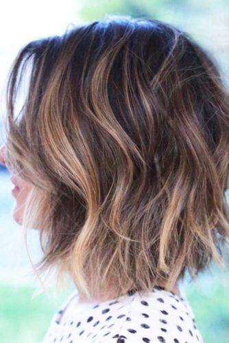 27 Pretty Shoulder Length Hair Styles Gestufter Longbob