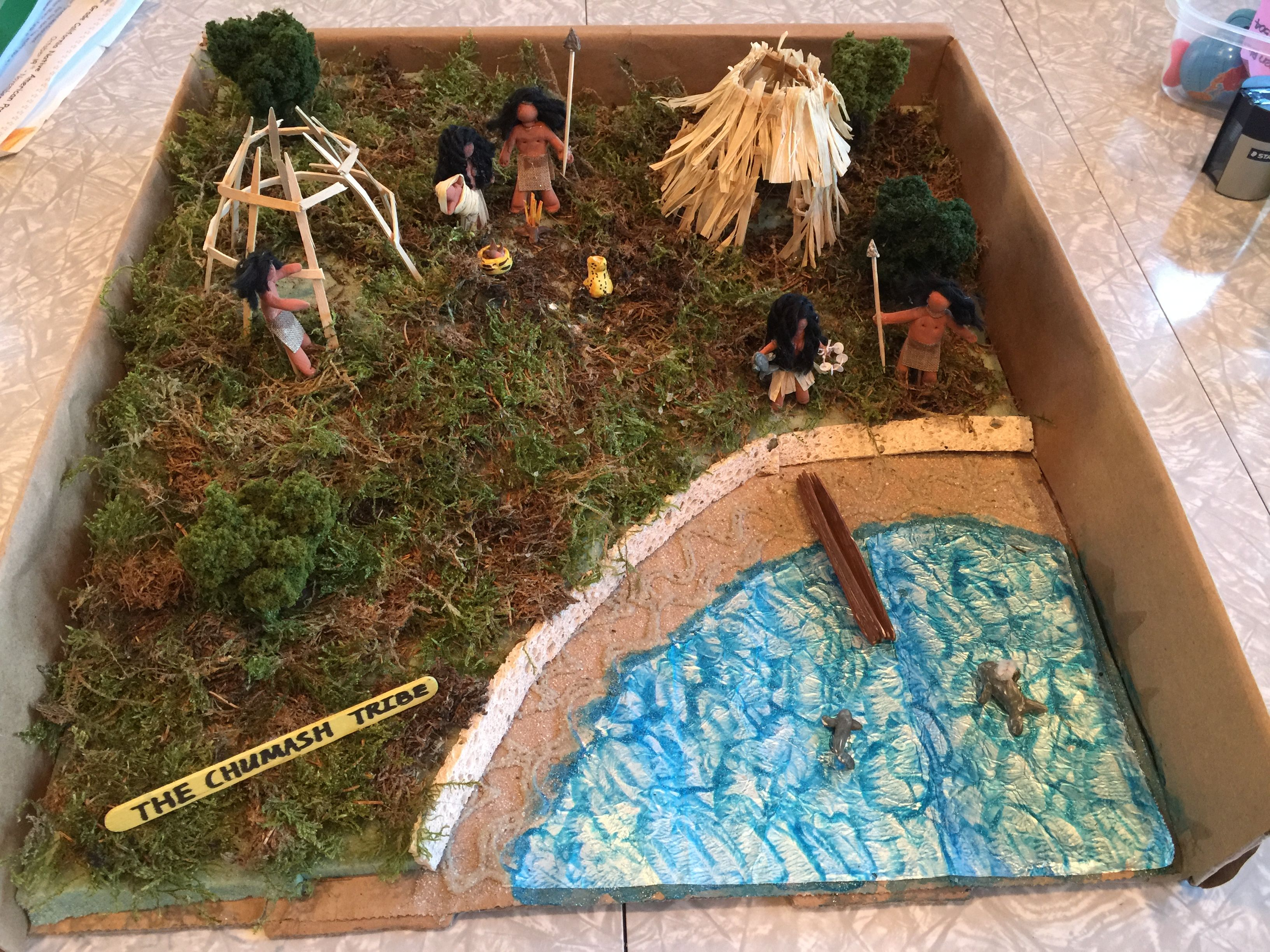 Indian Chumash Tribe Project