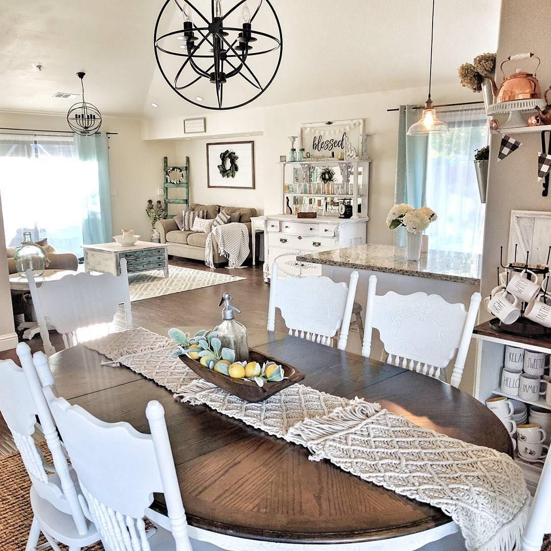 Agree Brianna's #homedecor Style Is Awesome Thx For Including Prepossessing Farm Style Dining Room Table Review