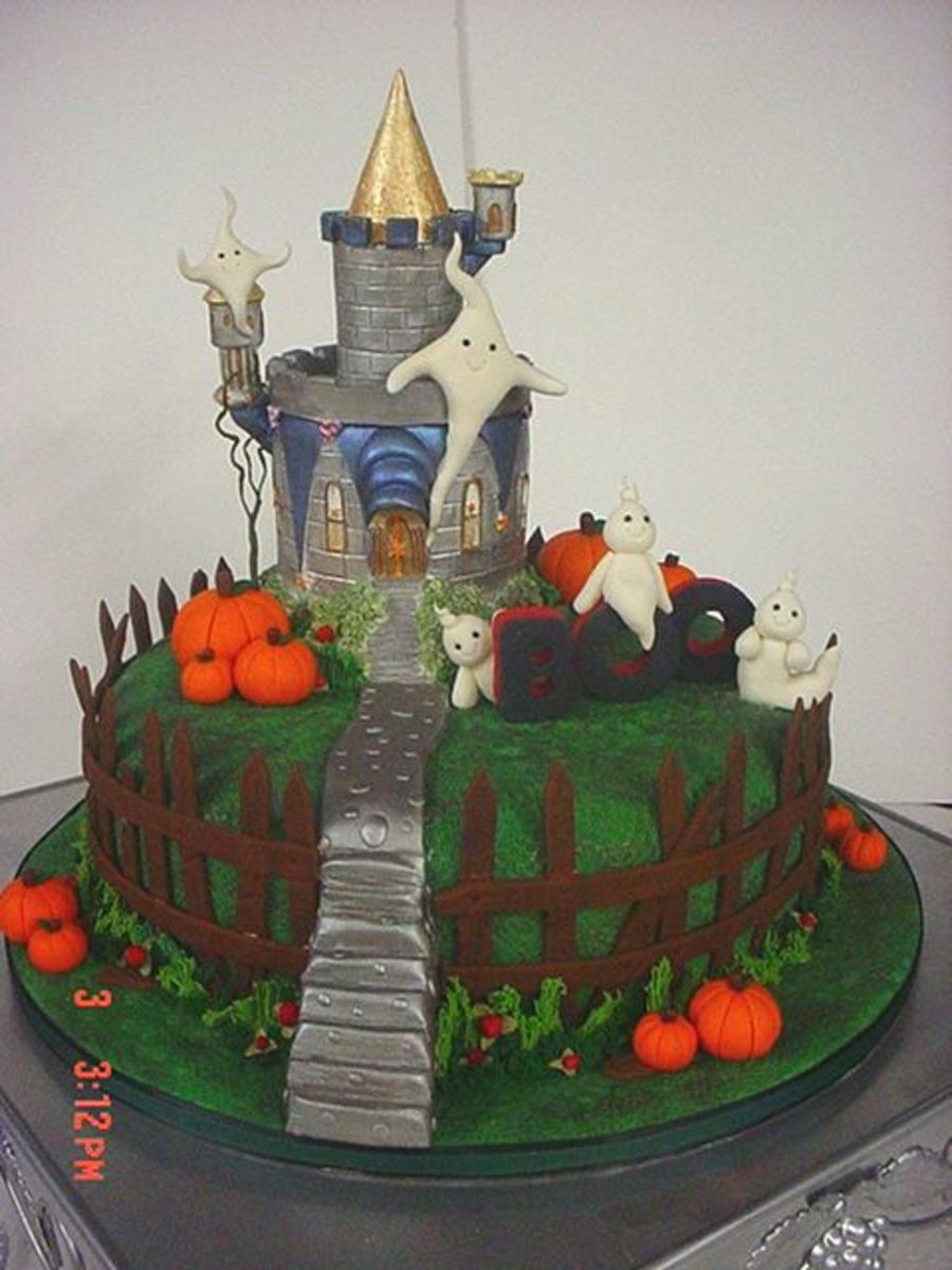 Haunted castle haunted castle dummy cake castle from cal