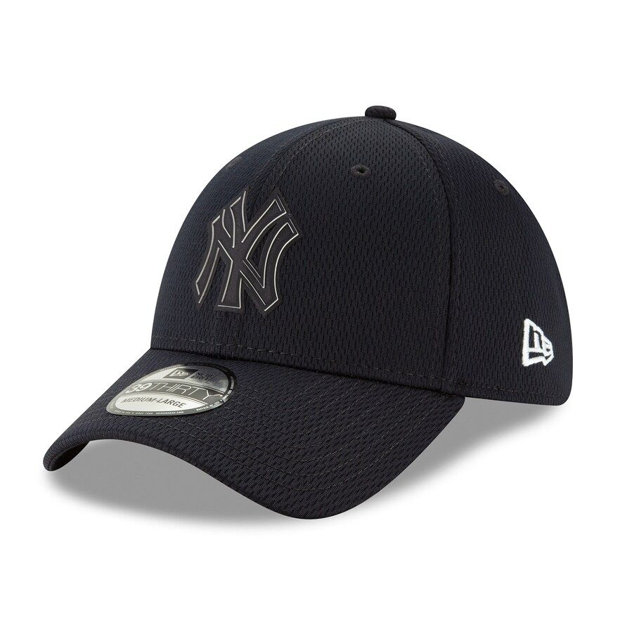 New Era New York Yankees Heather Crisp 3 Men/'s Navy Blue Fitted Hat 59FIFTY