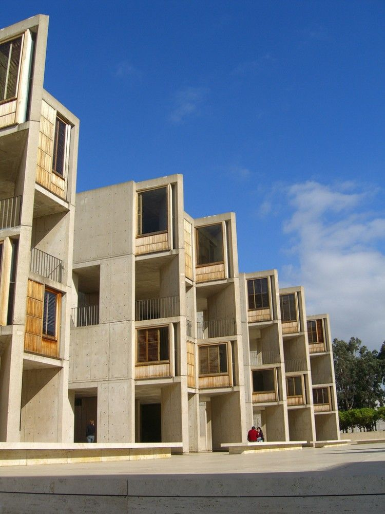 Architect-Kahn_Louis: The Salk Institute, La Jolla, California, USA