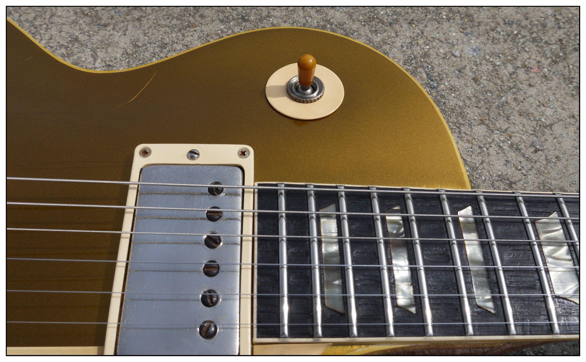 1957 Gibson Les Paul Standard Goldtop Guitar The Nite Owl Gibson Les Paul Les Paul Standard Les Paul
