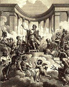 In ancient Rome the people mainly worshiped ten different gods ...