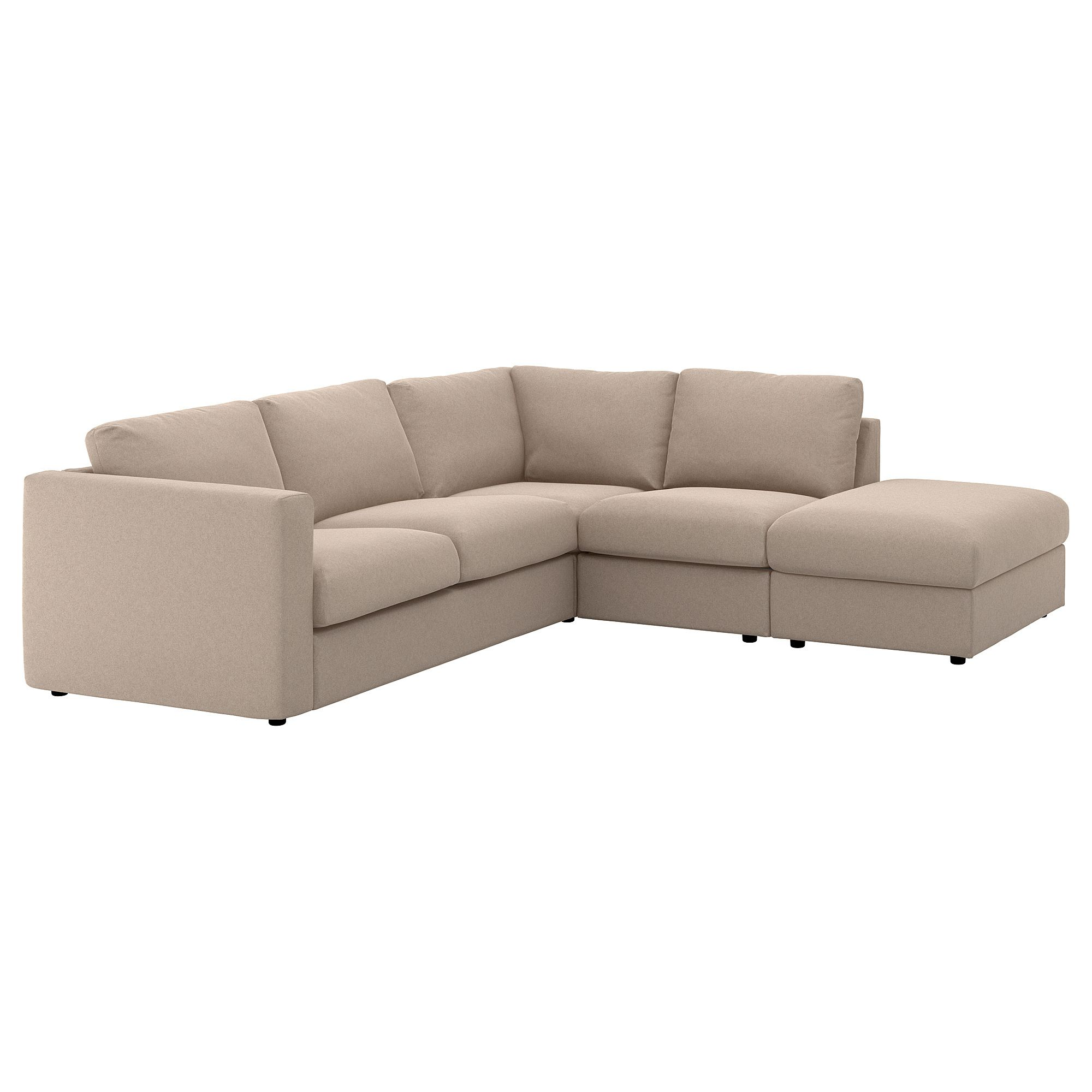 Ikea Vimle With Open End Tallmyra Beige Sectional 4 Seat