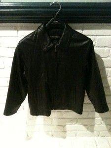 Dimension New York Boy S Genuine Leather Jacket Wow Genuine Leather Jackets Leather Jacket Fashion