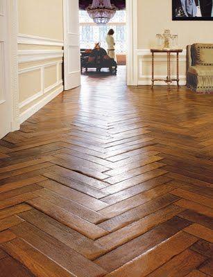 line: these zigzag lines evoke excitement. this floor represents line Wooden Flooring, Hardwood