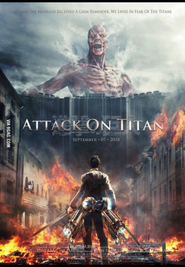 Amazing Attack on Titan poster
