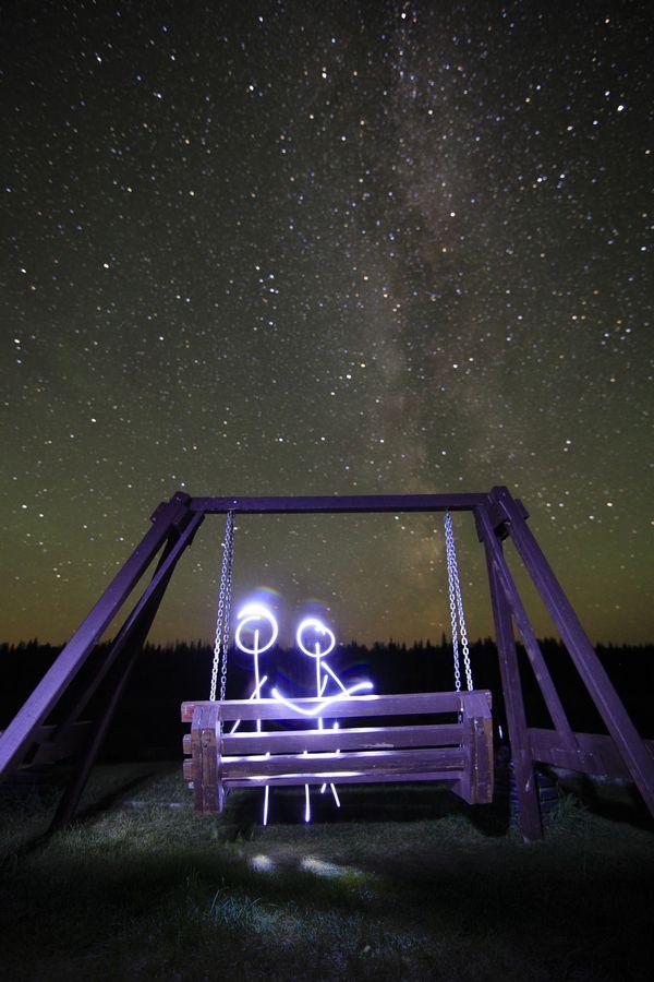 a romanstick night by Paul Lavoie, via 500px- LOVE this :)