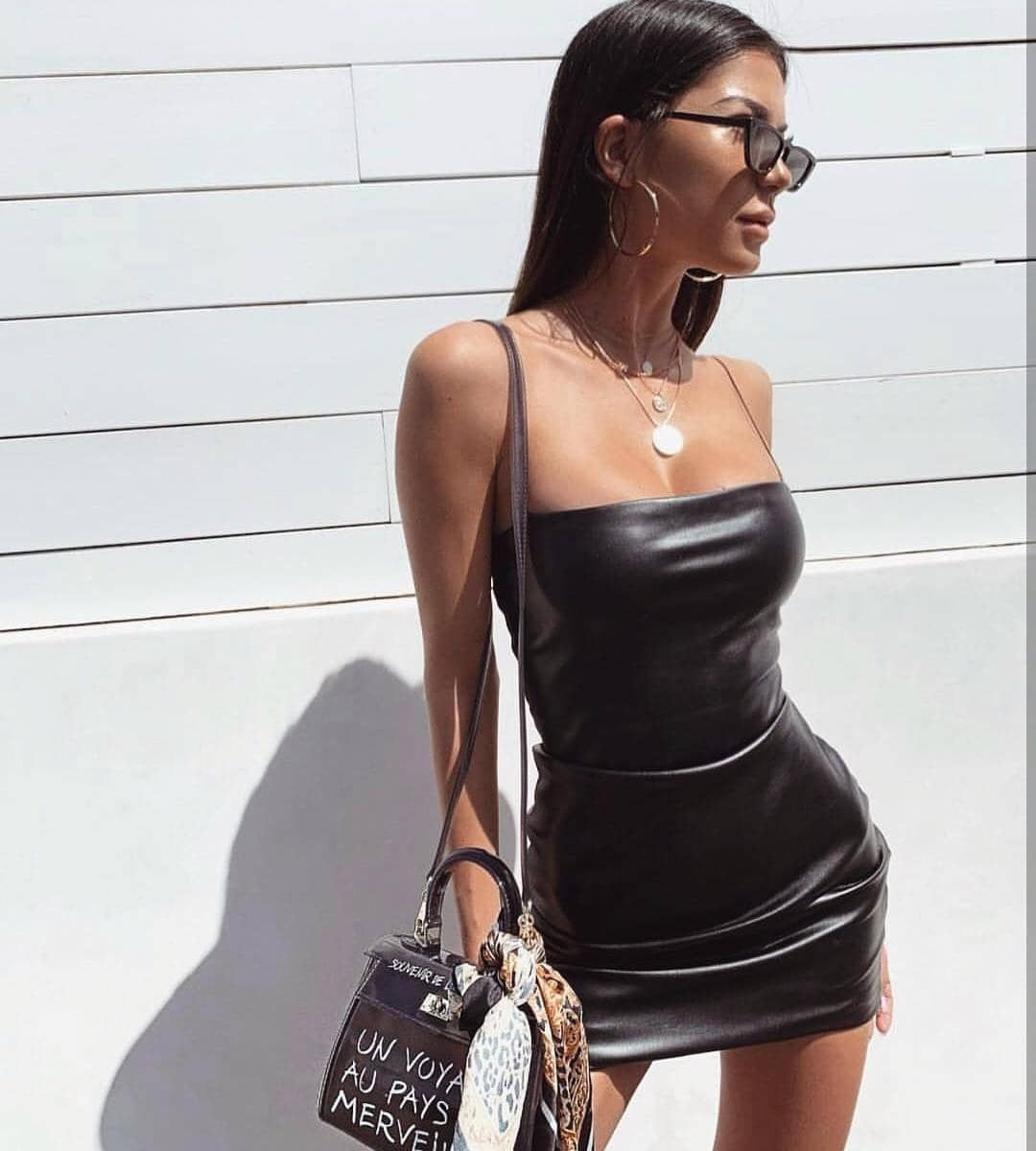 c7db0885c1a Watch the Best YouTube Videos Online - BAHARA HAZIRLIK Feux Leather Mini  İnce Askı Deri İthal
