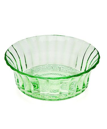 Loving this Green 9'' Bowl on #zulily! #zulilyfinds