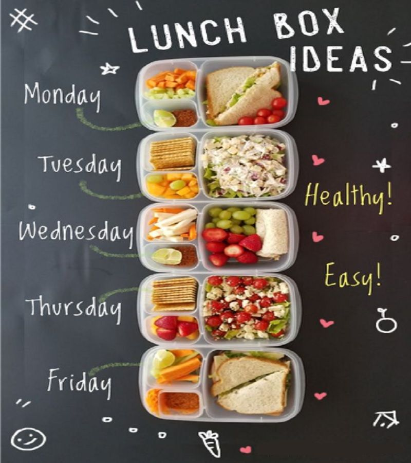 The Most Easy And Simple! LUNCH BOX IDEAS