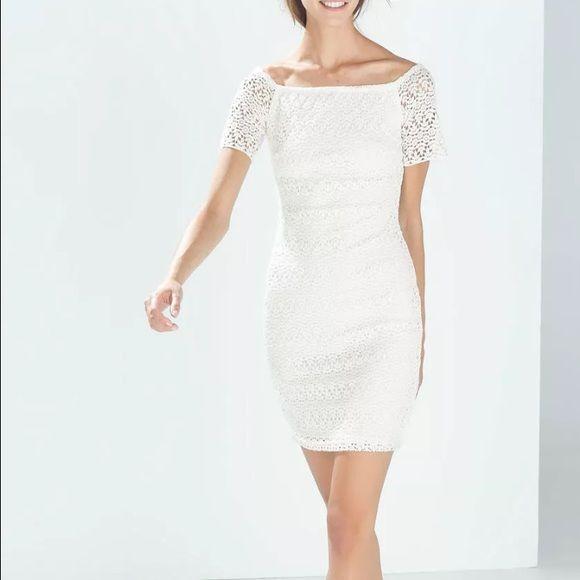 Zara lace dress Never worn Zara Dresses Mini