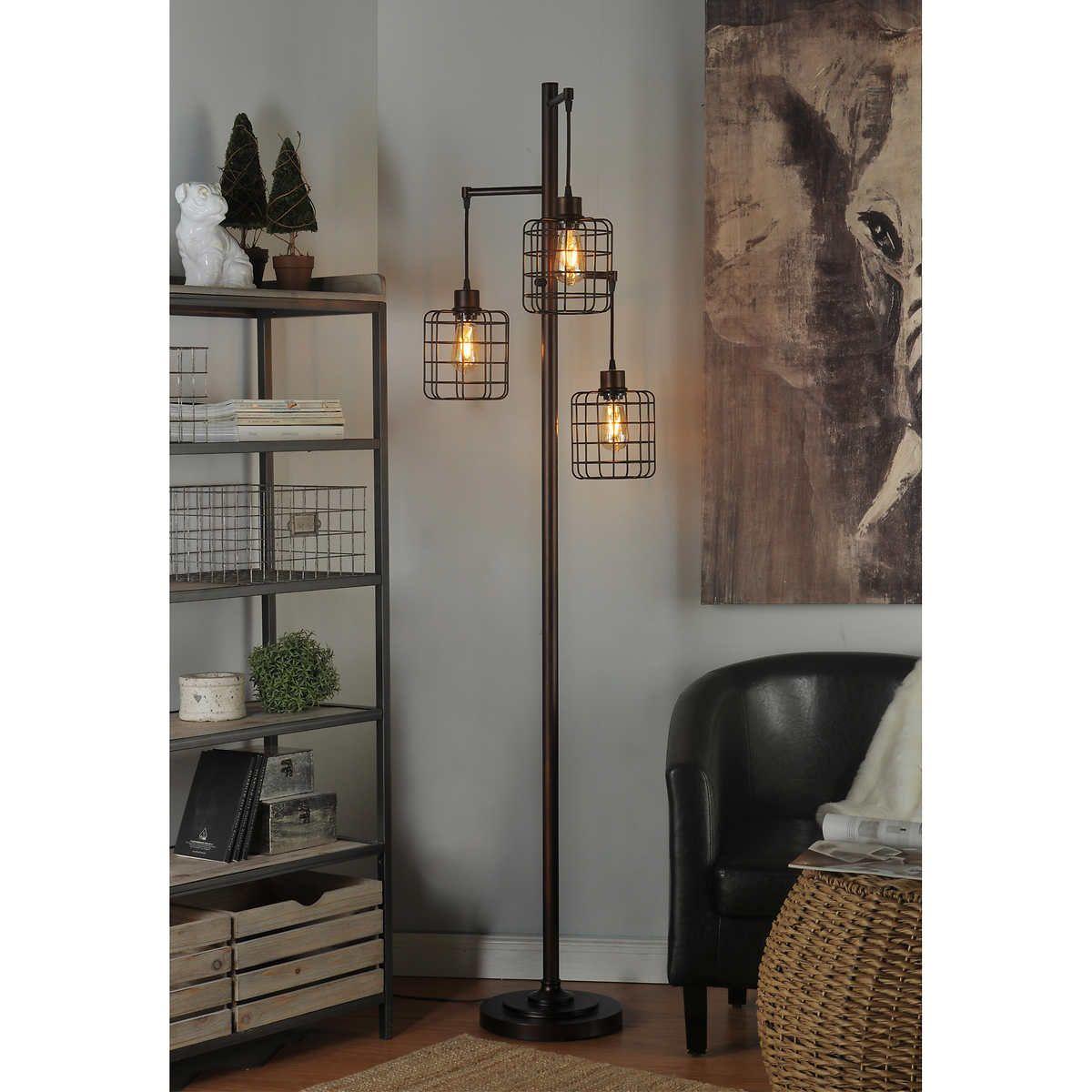 Piper Floor Lamp Lamps living room, Industrial