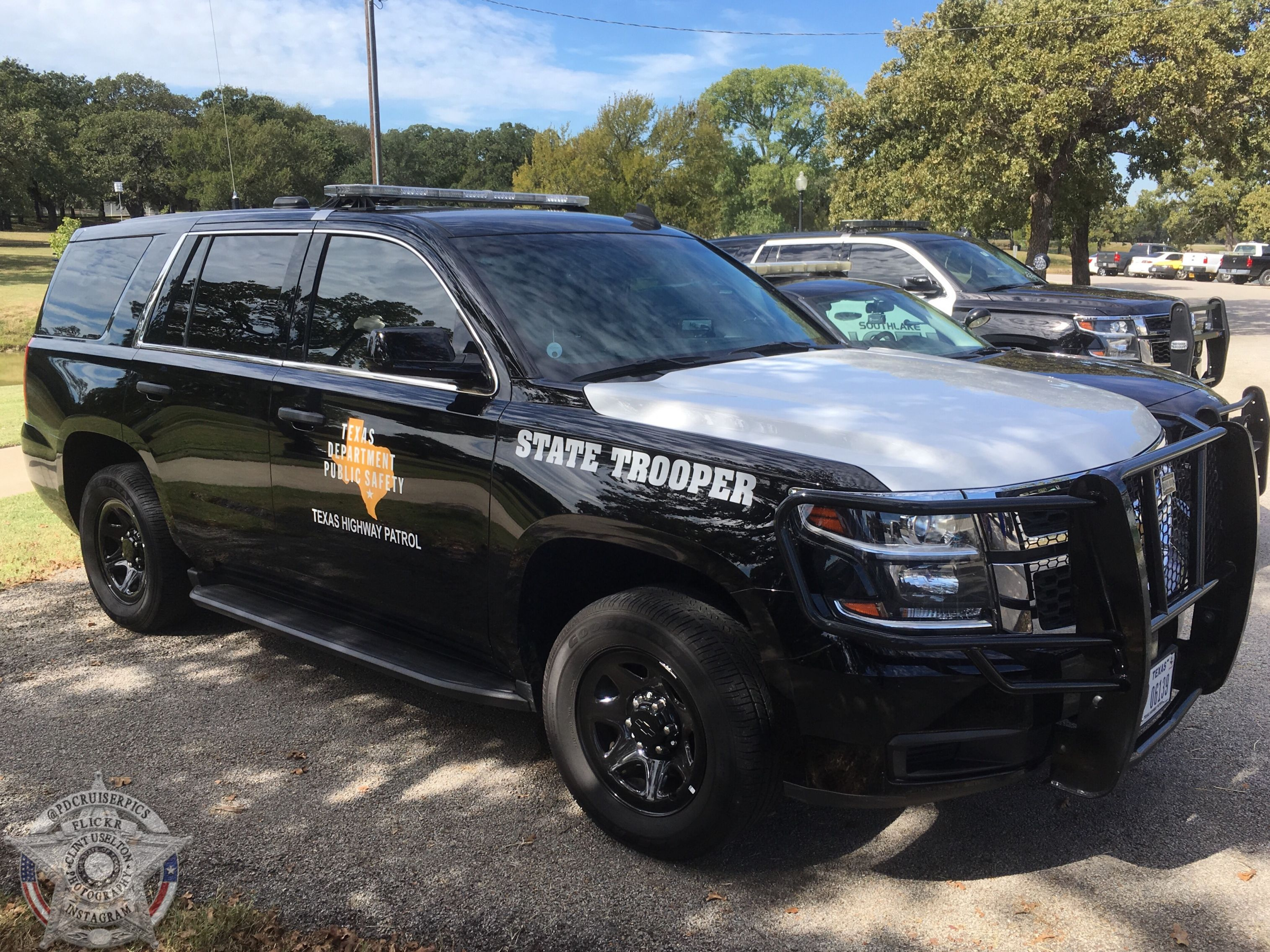 Texas DPS 2015 Chevy Tahoe Texas state trooper, 2015